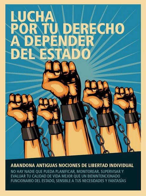 Lucha por tu derecho a depender del estado