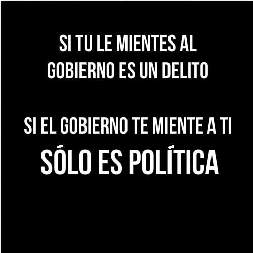 Mentiras y política
