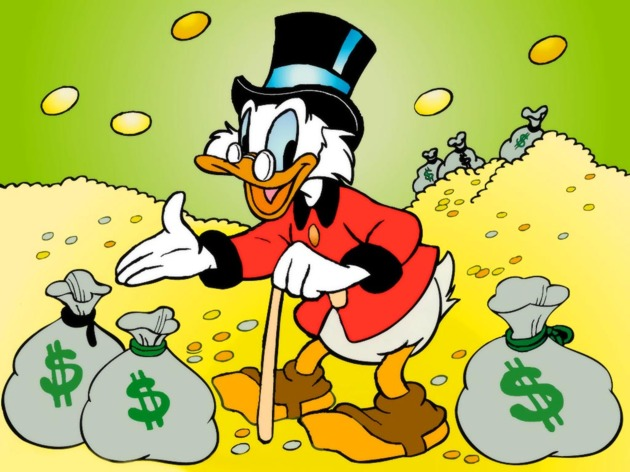 El tío Gilito y los mitos del ahorro