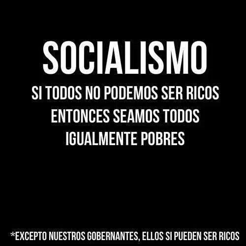 Socialismo-seamos-igualmente-pobres