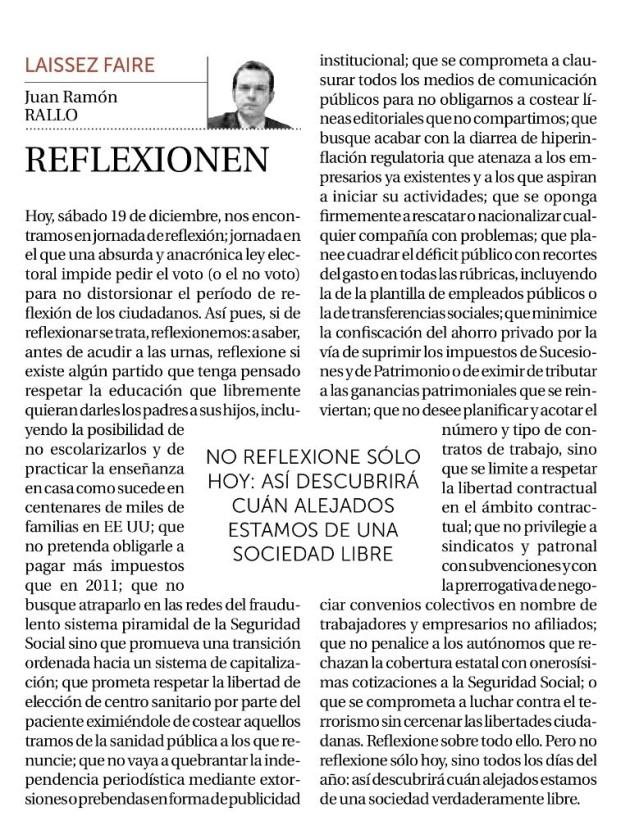 Juan Ramón Rallo-reflexionen
